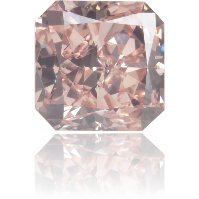Natural Pink Diamond Square 1.42 ct Polished