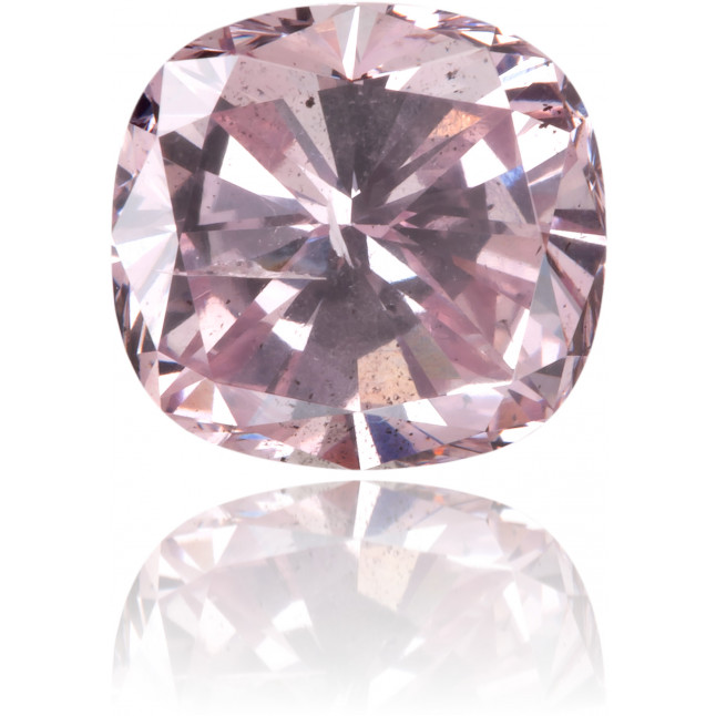 Natural Pink Diamond Cushion 1.03 ct Polished