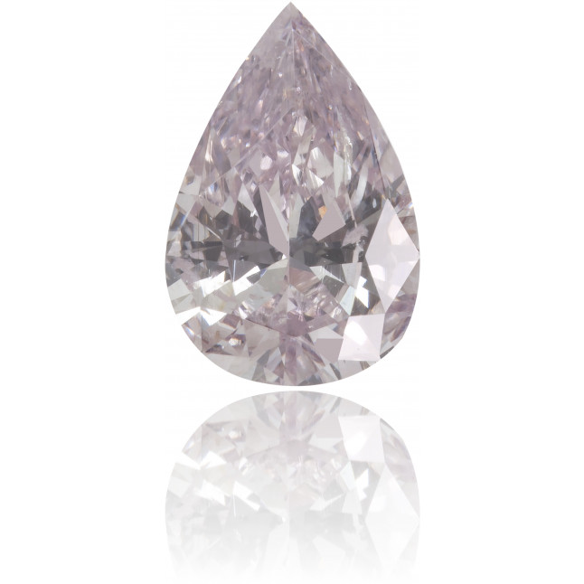 Natural Pink Diamond Pear Shape 0.74 ct Polished