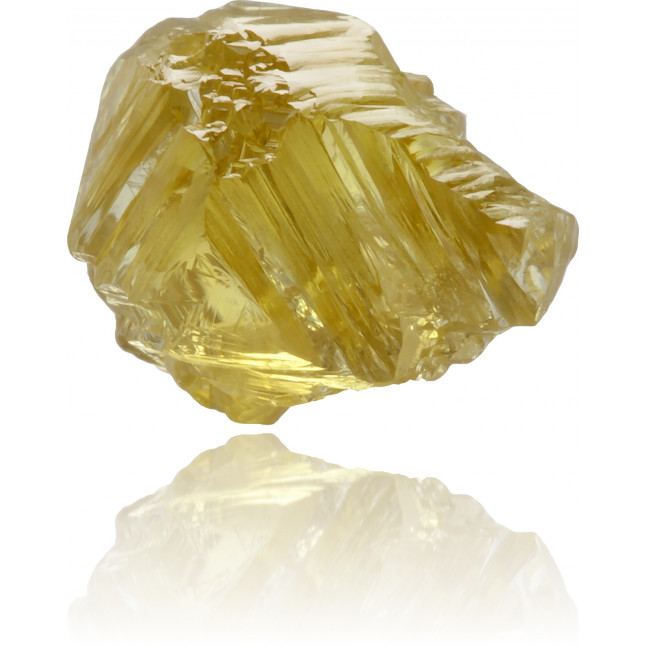 Natural Yellow Diamond Rough 1.67 ct Rough