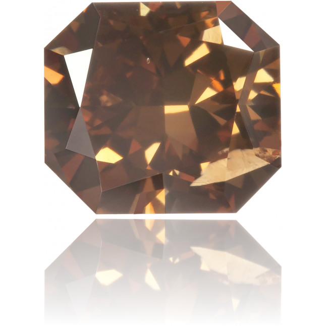 Natural Brown Diamond Rectangle 1.63 ct Polished