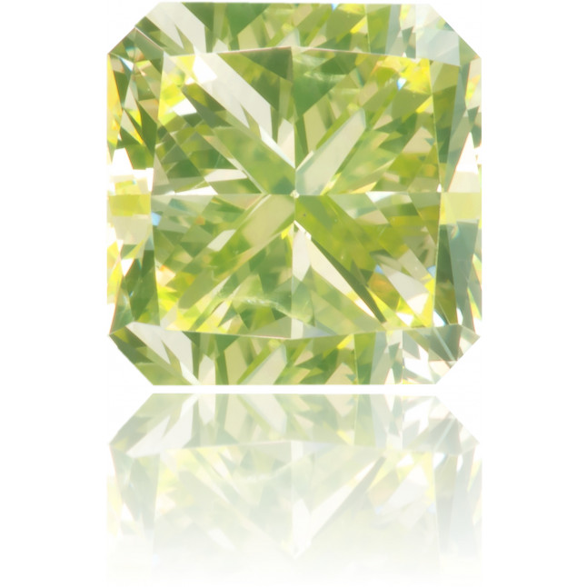 Natural Green Diamond Square 1.00 ct Polished
