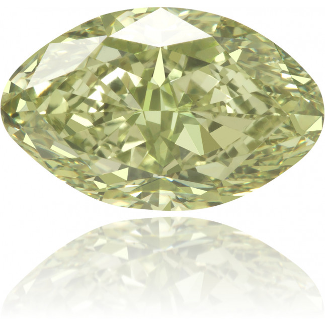 Natural Green Diamond Marquise 1.70 ct Polished