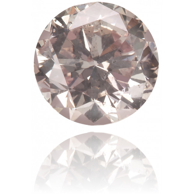 Natural Pink Diamond Round 0.33 ct Polished