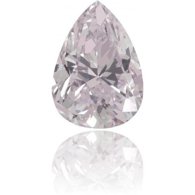Natural Purple Diamond Pear Shape 0.27 ct Polished