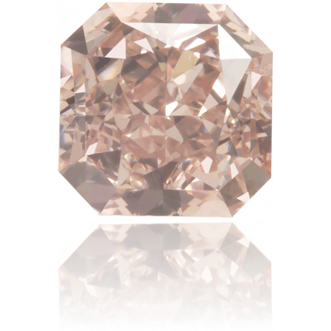 Natural Pink Diamond Square 0.42 ct Polished