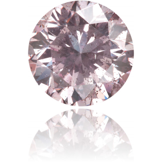 Natural Pink Diamond Round 0.65 ct Polished