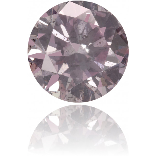 Natural Pink Diamond Round 0.46 ct Polished