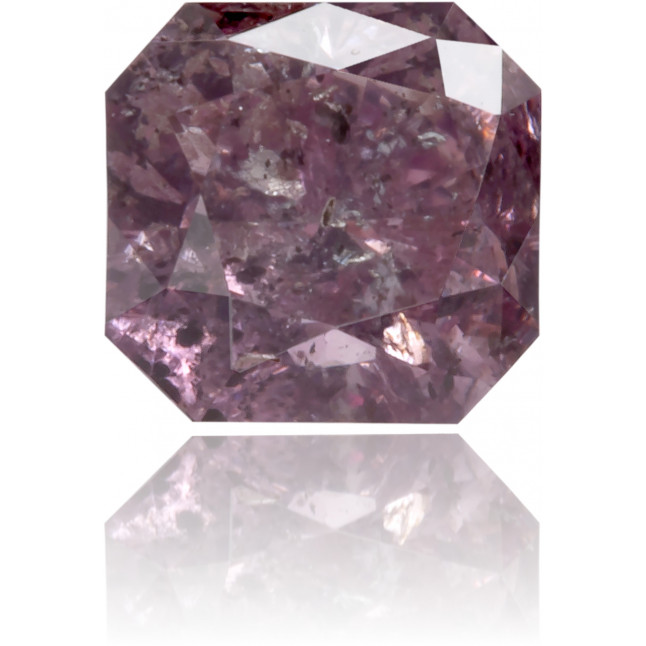 Natural Pink Diamond Square 0.48 ct Polished