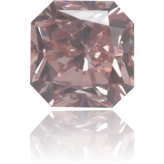 Natural Pink Diamond Square 0.57 ct Polished