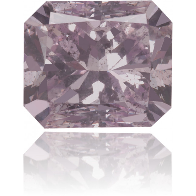 Natural Pink Diamond Rectangle 0.59 ct Polished