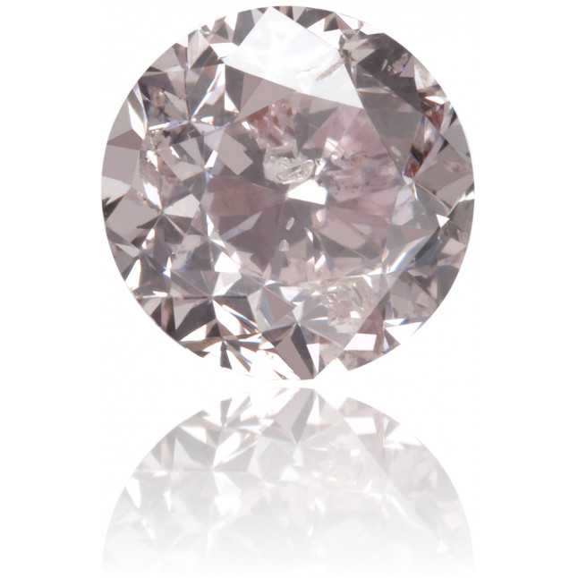 Natural Pink Diamond Round 0.67 ct Polished