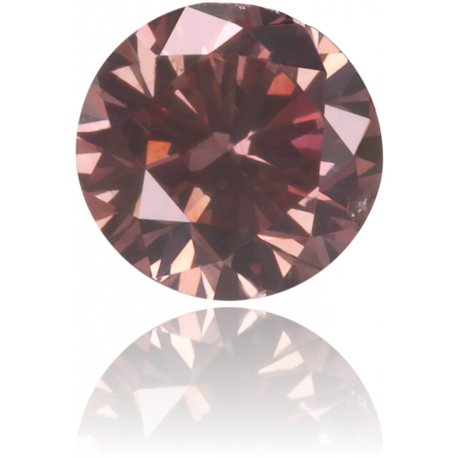 Natural Pink Diamond Round 0.14 ct Polished