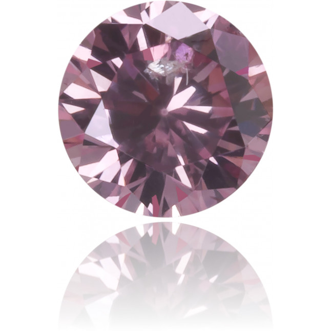 Natural Pink Diamond Round 0.16 ct Polished