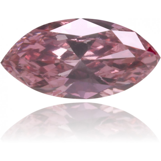 Natural Pink Diamond Marquise 0.16 ct Polished