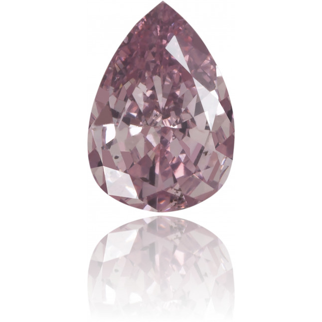 Natural Pink Diamond Pear Shape 0.16 ct Polished