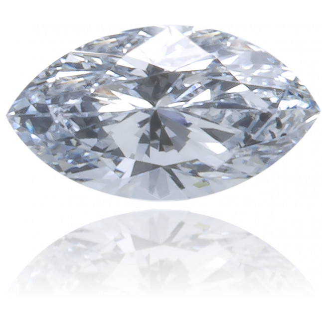 Natural Blue Diamond Marquise 0.07 ct Polished