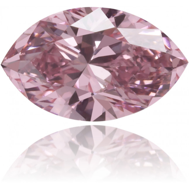 Natural Pink Diamond Marquise 0.20 ct Polished