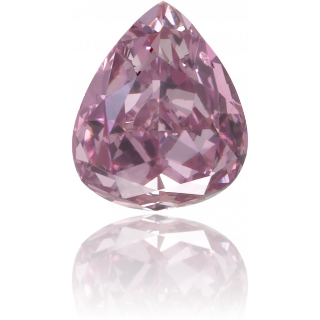 Natural Pink Diamond Pear Shape 0.22 ct Polished