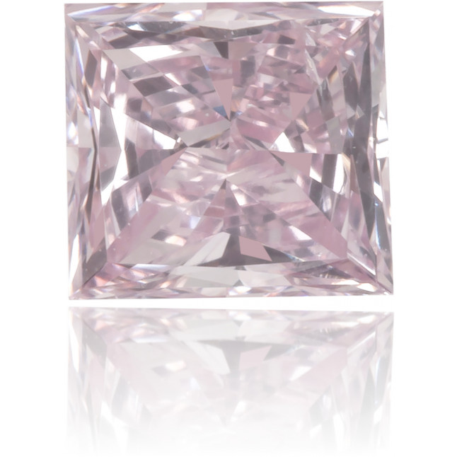 Natural Pink Diamond Rectangle 0.36 ct Polished