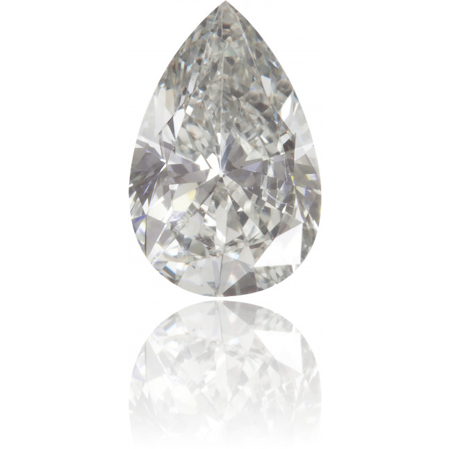 Natural Gray Diamond Pear Shape 0.31 ct Polished