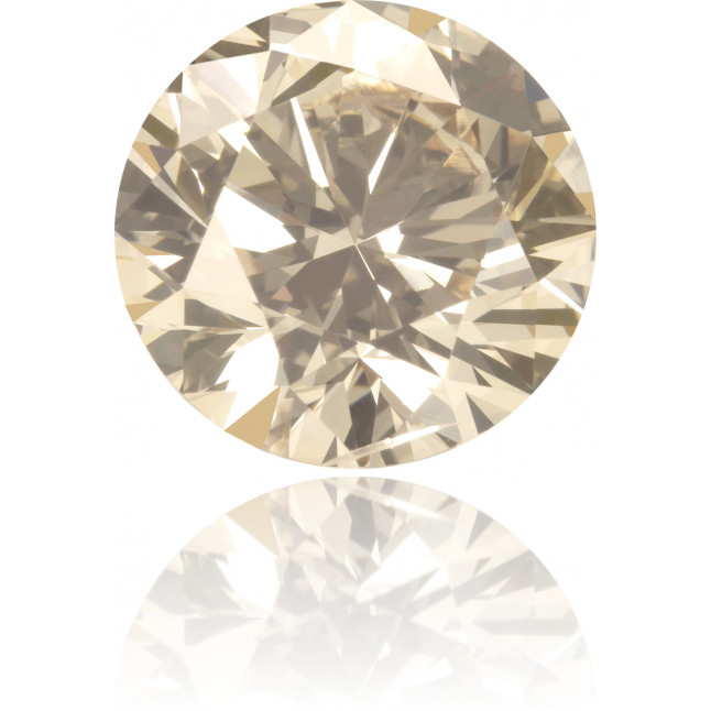 Natural Brown Diamond Round 2.37 ct Polished