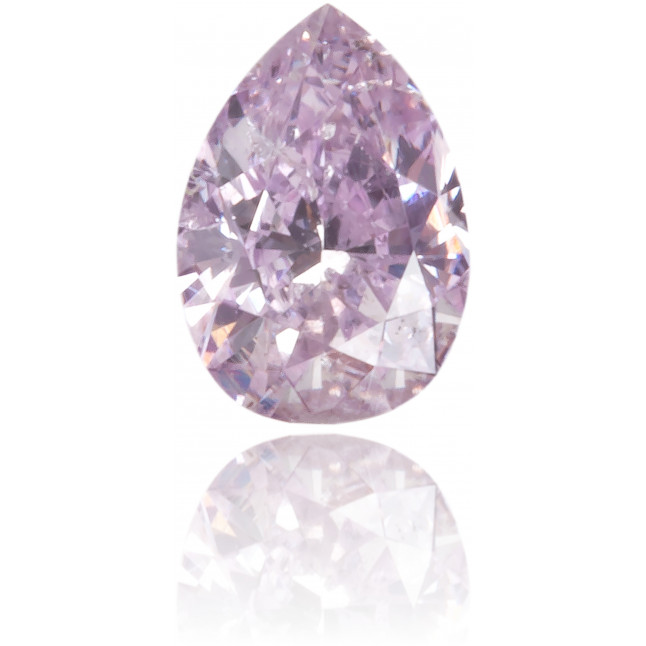 Natural Purple Diamond Pear Shape 0.11 ct Polished