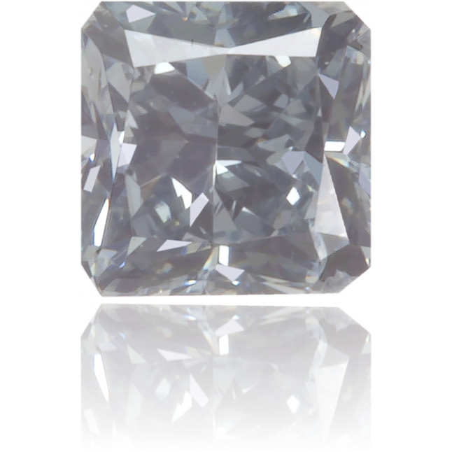 Natural Blue Diamond Square 0.15 ct Polished