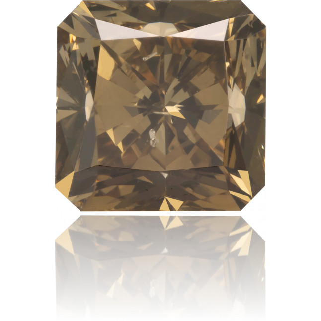 Natural Brown Diamond Square 2.87 ct Polished