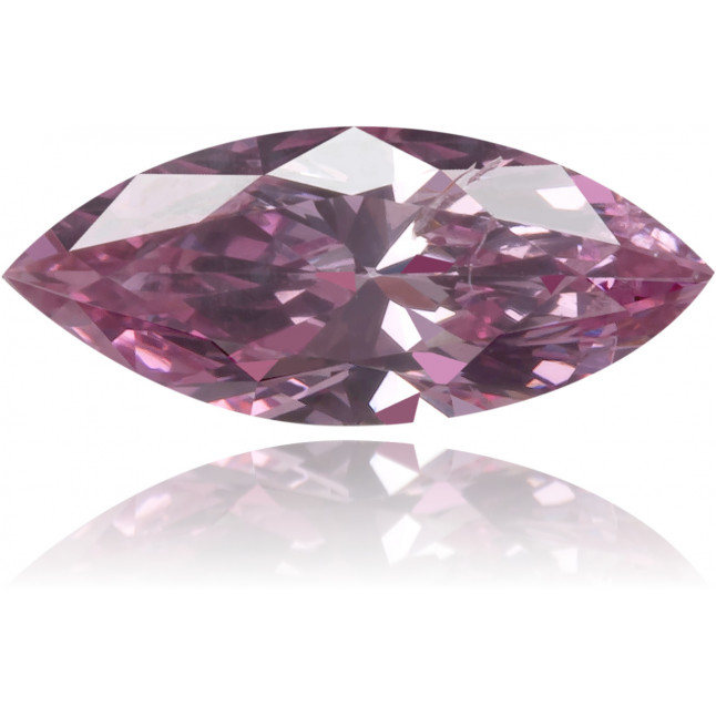Natural Pink Diamond Marquise 0.22 ct Polished