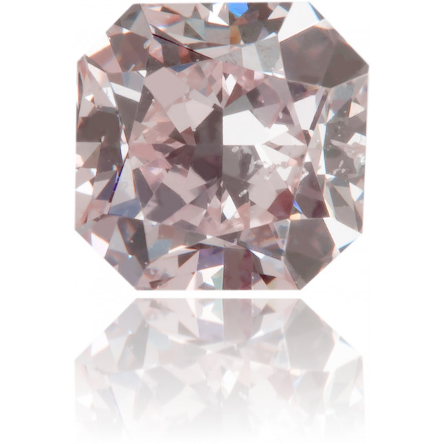 Natural Pink Diamond Square 0.64 ct Polished