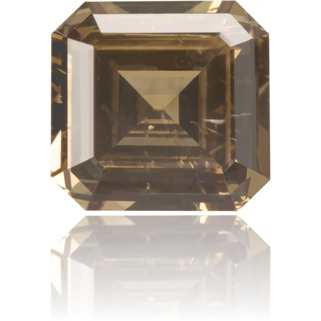 Natural Brown Diamond Square 0.79 ct Polished