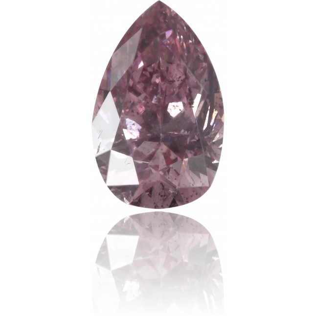 Natural Pink Diamond Pear Shape 0.20 ct Polished