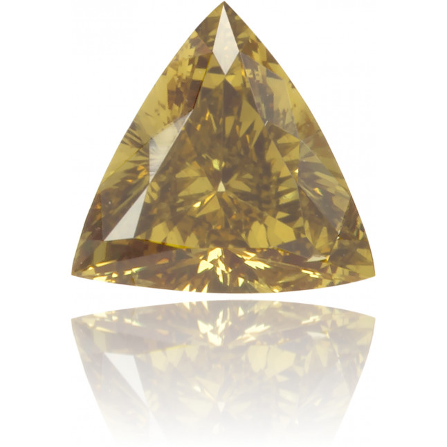 Natural Green Diamond Triangle 0.17 ct Polished