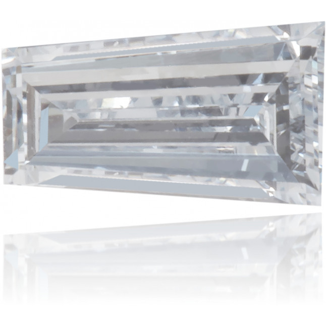 Natural Blue Diamond Baguette 0.15 ct Polished