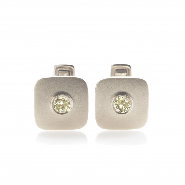 Vanilla Diamonds Cufflinks