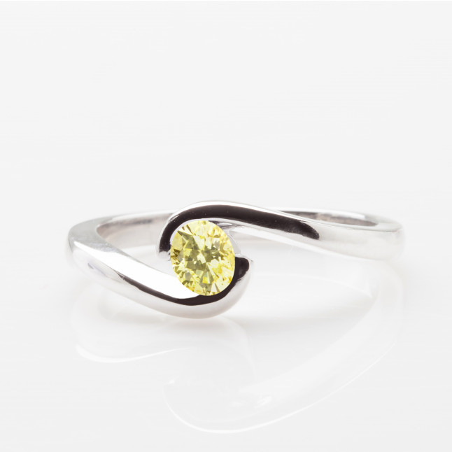 Yellow Oval Tension Ring