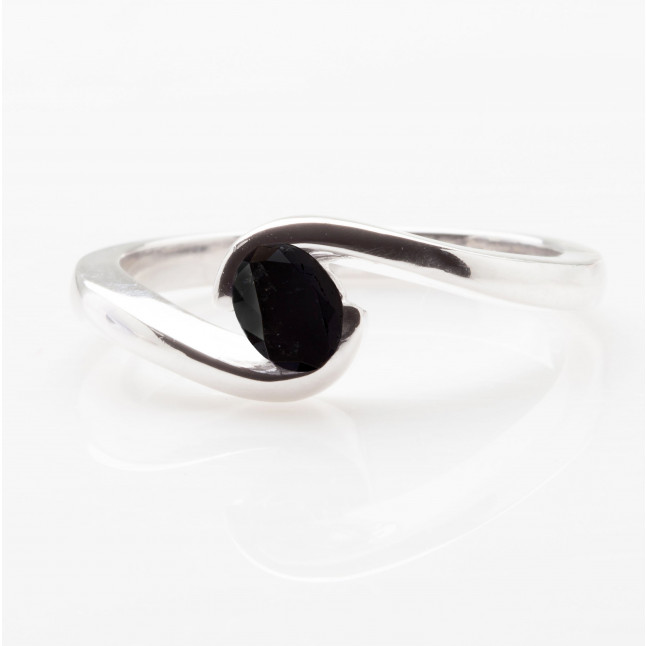 Black Oval Tension Ring