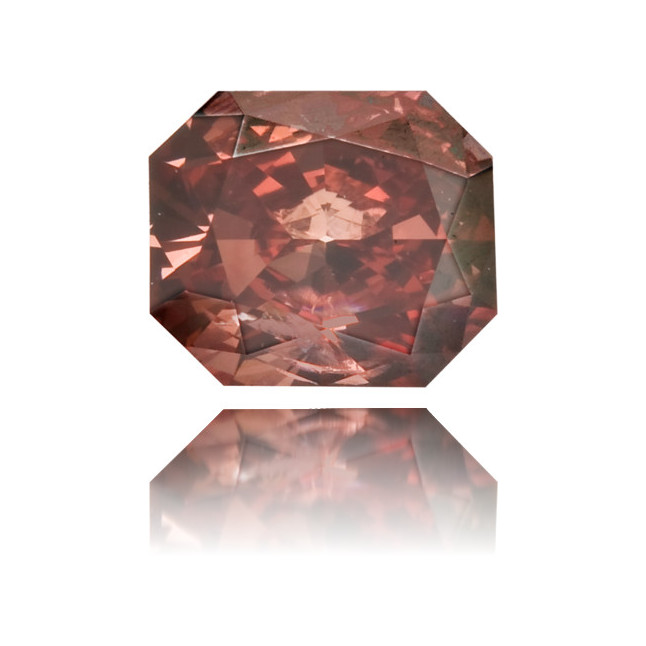 Natural Pink Diamond Rectangle 0.34 ct Polished