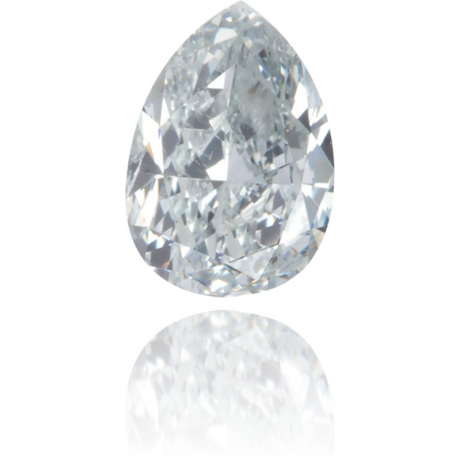 Natural Blue Diamond Pear Shape 0.43 ct Polished