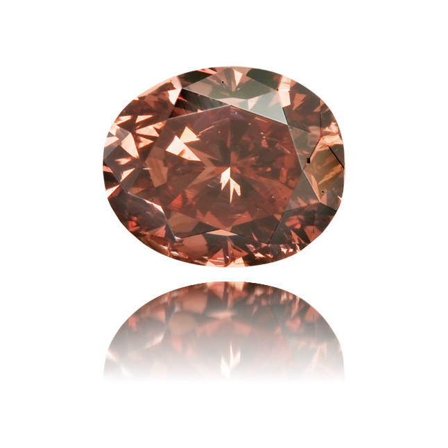 Natural Pink Diamond Oval 0.47 ct Polished