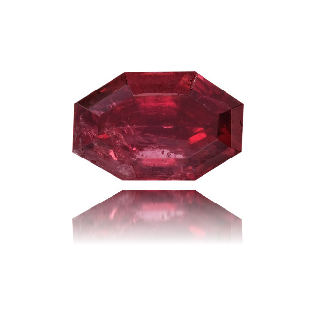 Natural Red Diamond Octagon 0.50 ct Polished