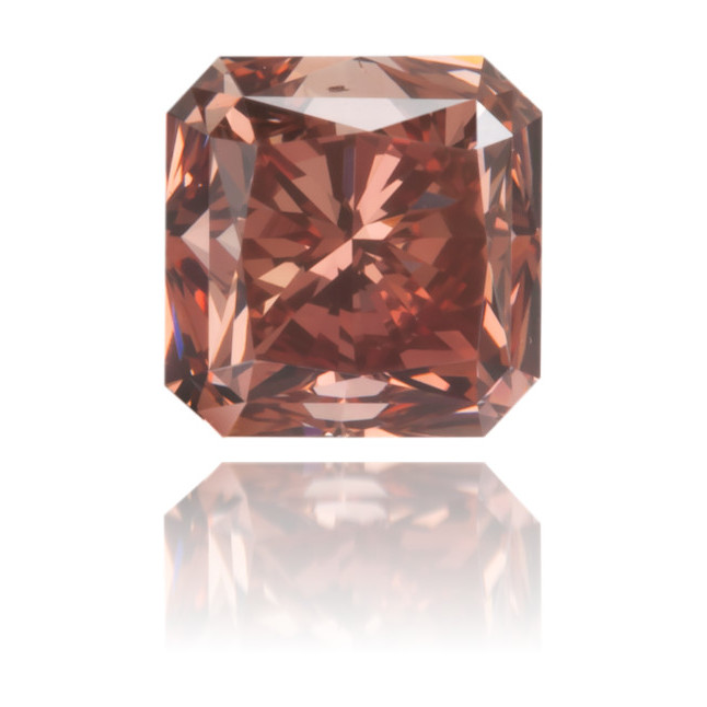 Natural Pink Diamond Square 0.60 ct Polished