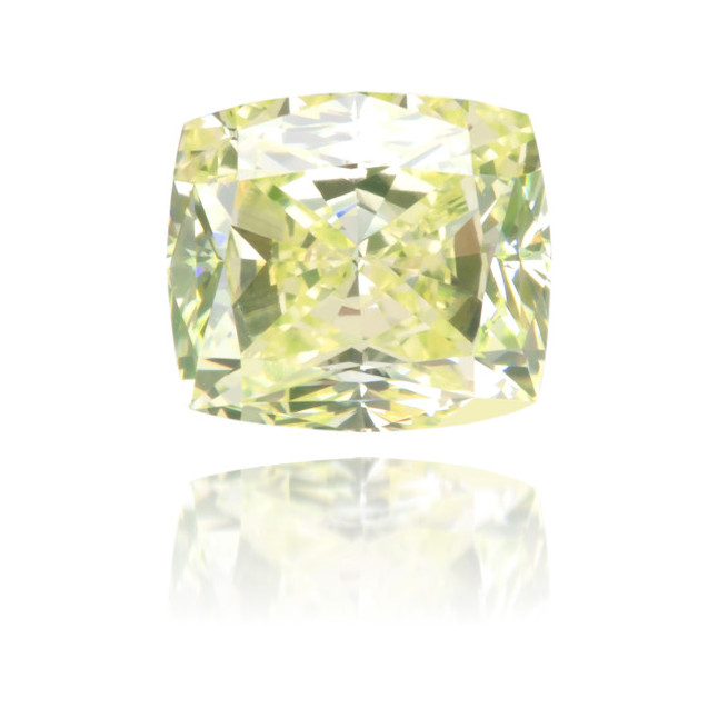 Natural Green Diamond Square 0.92 ct Polished