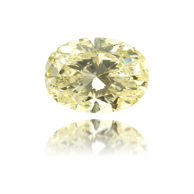 Natural Yellow Diamond Oval 1.00 ct Polished