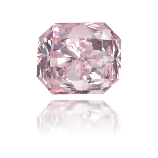 Natural Pink Diamond Square 1.00 ct Polished