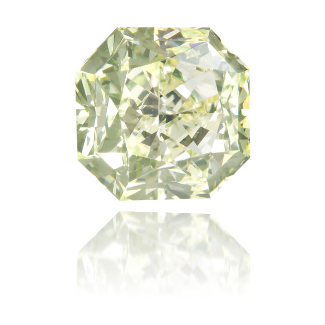 Natural Green Diamond Square 1.01 ct Polished
