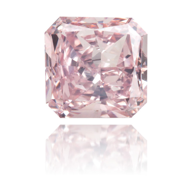Natural Pink Diamond Square 1.01 ct Polished