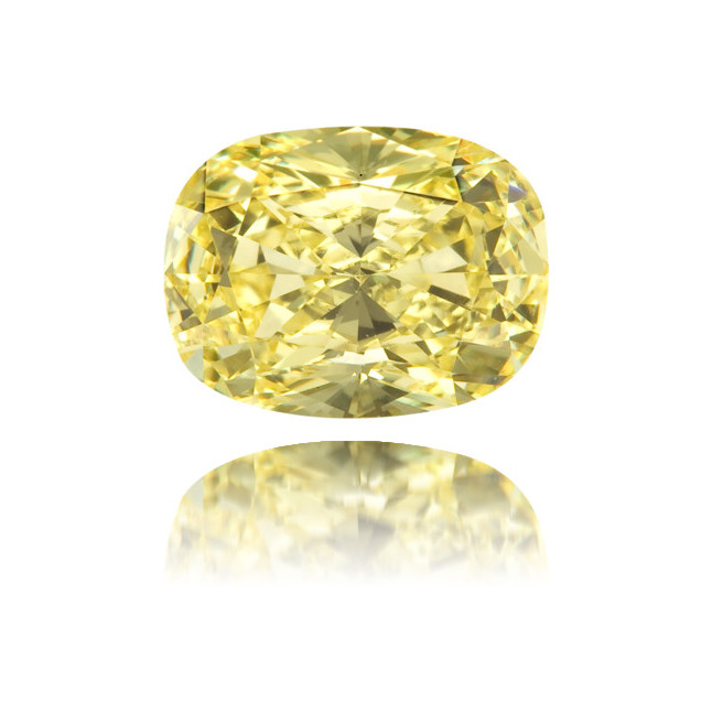 Natural Yellow Diamond Oval 1.02 ct Polished