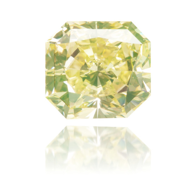 Natural Green Diamond Square 1.02 ct Polished